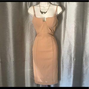 Dresses & Skirts - Nude sexy dress